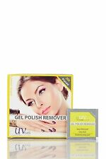 UV-NAILS Gel nail polish remover pads with acetone 200 pads - Lemon Scent