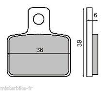 Jeu de 2 Plaquettes de frein Arrière pour Gas Gas TXT 125 200 250 280 PRO TRIAL