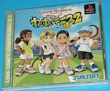 Wai Wai Tennis 2 - Sony Playstation - PS1 PSX - JAP