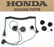 New Genuine Honda Deluxe Headset Full Face Helmets GL1800 GL1500 Goldwing #O84