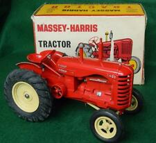 "BOXED LESNEY 1954 DIECAST PRE MOKO LARGE SCALE MASSEY HARRIS 745D 8"" TRACTOR"