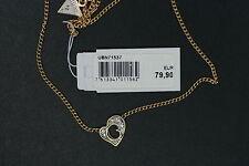GUESS Collier Pour Femmes UBN71537 G Hearts Cœur DE LUXE Chaîne Garniture