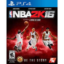PS4 NBA 2K16 Brand New Factory Sealed Playstation 4