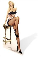 Marilyn Monroe Stockings Hollywood Official Lifesize Celebrity Cardboard Cutout