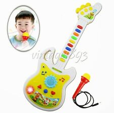 Electronic Guitar Music Instrument Educational Toy Kid Gift Early Educayion Game