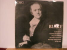 Blake - Read by Alan Bates/Richard JohnsonPeter Orr etc-Vinyl Lp- Free UK Post