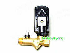 Automatic Electronic Timed Air Compressor Condensate Auto Drain Valve 220V 1/2""
