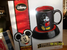 NEW Mickey Mouse Coffee Cup  Mug & Warmer office or home  Disney®