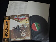 Led Zeppelin - Led Zeppelin I Japan Vinyl LP w/OBI + Poster