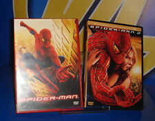 Pelicula EN DVD SPIDERMAN y SPIDERMAN 2 buen estado