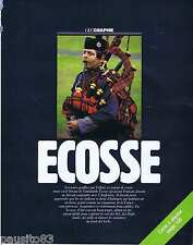 COUPURE DE PRESSE CLIPPING 1987 GEO : L' Ecosse avec la carte  (16 pages)