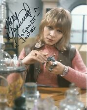 Katy Manning as Jo Grant from Dr Who hand signed photo UACC AFTAL