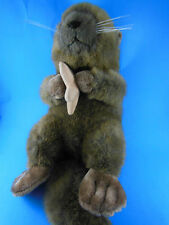 "Beautiful 16"" plush otter holding star fish Excellent"