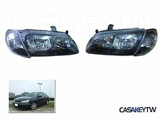 00-03 N16 Pulsar Crystal Headlight Black DEPO Head Lights FOR Nissan