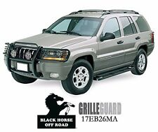 Fits 99-04 Jeep Grand Cherokee Black Grille Guard By Black Horse 17EB26MA