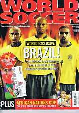 BRAZIL / AFRICAN NATIONS CUP World Soccer Apr 2006