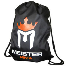 MEISTER MMA DRAWSTRING BACKPACK - Cinch Sack Duffel Bag Gym Tote Sports Gear NEW