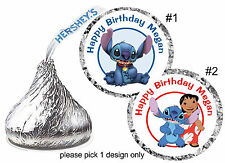 216 LILO & STITCH  BIRTHDAY PARTY FAVORS HERSHEY KISS LABELS