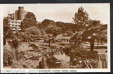 Dorset Postcard - Bournemouth, Lily Pond, Central Gardens  A7073