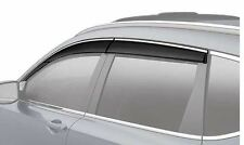 NEW GENUINE HONDA 2017 CRV CR-V DOOR VISOR SET VENT VISORS 08R04-TLA-100