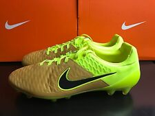 NIKE MAGISTA OPUS LTHR LEATHER FG BOOTS UK 10.5 EUR 45.5 768890 707 Yellow
