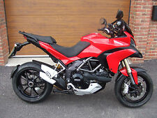2012/62 Ducati Multistrada 1200 ABS with 10,800m in Red