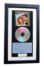 GREASE The Album+Soundtrack CLASSIC CD Album TOP QUALITY FRAMED+FAST GLOBAL SHIP