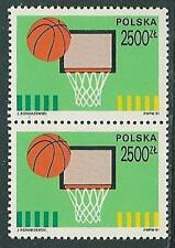 Poland stamps MNH 100 years basketball  (Mi. 3340) (2v)
