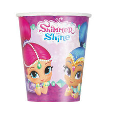 SHIMMER AND SHINE 9oz PAPER CUPS (8) ~ Birthday Party Supplies Drink Beverage