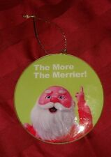 Disney ABC Family 25 Days Christmas THE MORE THE MERRIER SANTA CLAUS Ornament