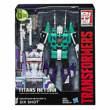 Transformers Generations Titans Return Leader SIX SHOT G1 NEW IN STOCK USA!!!!!!