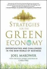 Strategies for the Green Economy: Opportunities and Challenges in the -ExLibrary