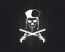 Sticker adesivi adesivo moto auto jdm bomb tuning casco pirata cranio teschio r3