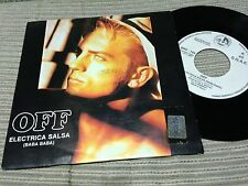 "OFF - SVEN VATH - SPANISH 7"" SINGLE SPAIN PROMO - ELECTRICA SALSA -ELECTRO SYNTH"