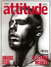 ATTITUDE #263 November 2015 Awards Issue ALEXANDER McQUEEN VIVIENE WESTWOOD @New