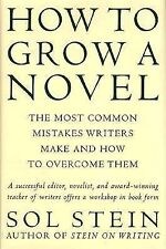How to Grow a Novel-Sol Stein-Hardcover/dust jacket-