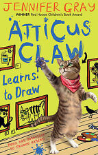Atticus Claw Learns to Draw (Atticus Claw: World's Greatest Cat Detective), Gray