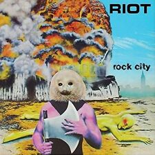 Rock City - Riot (2015, CD NEUF)