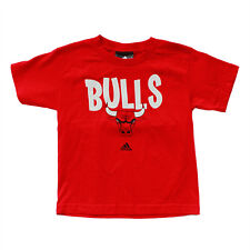 NBA Chicago BULL Adidas T-shirt for Kids / Toddlers. SMALL (3/4 Years)