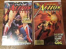 Lot of 2 DC Superman ACTION COMICS - 2004 - # 816 # 817