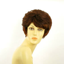 short wig for women brown copper wick light blond and red ref: CLEMENTINE 33H130