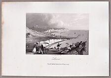 Dover Gesamtansicht. Schöner Stahlstich von A.H. Payne 1847