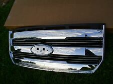2015 2016 FORD F150 F-150 LARIAT KING RANCH CHROME NEW FACTORY FORD GRILL GRILLE