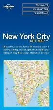 Travel Guide: Lonely Planet New York City Map by Lonely Planet Publications...