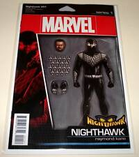 NIGHTHAWK # 1  July 2016  Marvel Comic NM  ACTION FIGURE VARIANT COVER EDITION