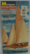 MARITIME : SEA BREEZE RACING YACHT MODEL KIT MADE IN 1956 BY MONOGRAM