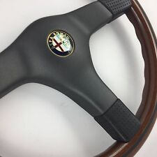 Nardi wood rim 365mm steering wheel. Genuine NOS. Alfa Romeo, Alfetta, Giulietta
