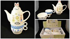 Rabbit Teapot, Tea for one/two UK SELLER