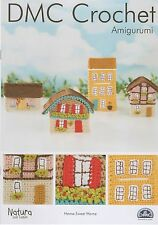 DMC 15312L/2 Home Sweet Home Amigurumi Crochet Pattern Chalet, Cottage, House