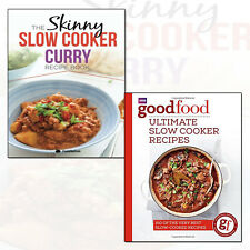 Good Food: Ultimate Slow Cooker and Curry Recipe Book 2 Books Collection Set NEW